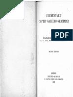 Murray, M. a., Elementary Coptic (Sahidic) Gramar