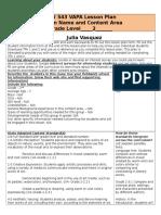 edu543 vapa lesson plan