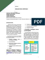 Estudios Funcionales Del Esofago
