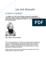 Pervaizism and Ahmadis