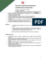 Esquema Aprobado Del Trabajo Final Introducción a Los Negocios Internacionales 2016-2