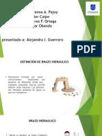 Diapositiva Experimento Fisica (pascal) brazo mecanico