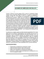 3. Síntesis y Reacciones de Complejos Con Oxalato