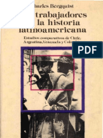 Charles Bergquist Los Trabajadores en La Historia a