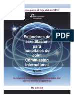 3. Manual de Acreditación JCI - 5ta Edicion