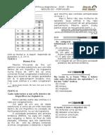 2ª P.D - 2016 (1ª ADA - 2ª etapa - Ciclo I) - PORT. 5º Ano - Blog do Prof. Warles .doc