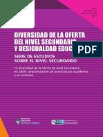 Informes Investigación 04 Secundario Desigualdad Educativa