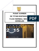 Almanak Astronomi 2015
