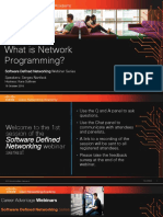SDN_What is Network Programming