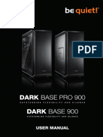 be quiet! DARK BASE PRO 900 ATX Full Tower Computer Chassis - Black.pdf