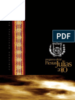 Programa Oficial Fiestas Julias 2010