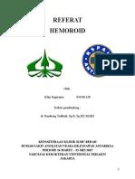 Referat Hemoroid