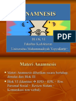 Anamnesis Blok Vi