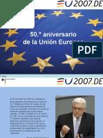 50 Aniversario de La UE