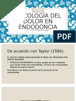 Psicologia Del Dolor en Endodoncia
