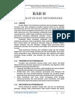 Bab II Pendekatan Dan Metodologi