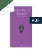 Ranciere Jacques - El Reparto de Lo Sensible