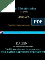 Lean Manufacturing Mapua 2016