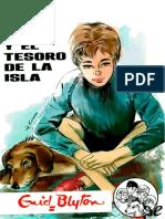 Los Cinco y el Tesoro de la Isl - Enid Blyton.pdf