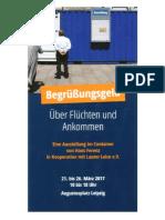 2017-03 Hans Ferenz - Ausstellung Flüchten und Ankommen