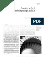 Corrupção No Brasil - Visão Da Psicologia Analítica