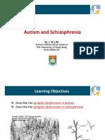 BBMS3011 Autism and Schizophrenia