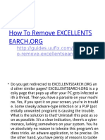 How to Remove Excellentsearch.org