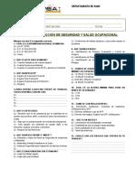 Examenes Personal Nuevo SEGURIDAD - ESMIMSA