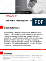 Oracle Enterprise Architecture _ The Art of Architecture Transformation _ Presentation.pdf