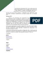 Frameworks MVC