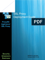 SSL Proxy Deployment Guide 6.5 Later