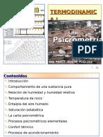 Psicrometría 2009 - II p Rueda