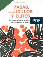 Masas, caudillos y elites.pdf