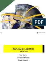 Clase 3. Logística Internacional. INCOTERMS. Infraestructura Logística