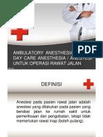 Anestesi Rawat Jalan New [Compatibility Mode]