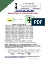 CCTV Lens Selection Calculator for .pdf