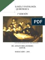 Semiologia y Patologia Quirurgica. Primera Edicion. BREA.pdf