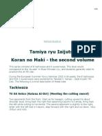 2Tamiya Ryu Iaijutsu