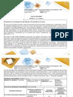 Guía de Actividades y Rúbrica de Evaluación- Etapa 1