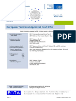 Draft ETA BBV Litzenspannverfahren Extern Type E European Approval
