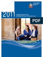 2011 Undergraduate International Prospectus
