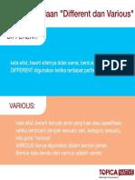 Poster Grammer Dan Vocab