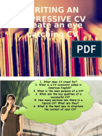 Writing an Impressive CV I.pptx