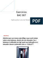 Exercicios de fisica