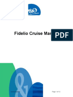 Fidelio Cruise Manual