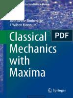 Classical Mechanics With Maxima