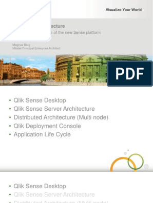 Qlik Sense Architecture - Magnus Berg(1) | Application Software