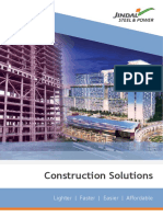 Construction Solutions- Jindal Steel & Power Ltd