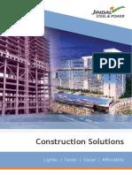 Construction Solutions- Jindal Steel & Power Ltd