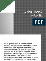 La Evaluación Infantil